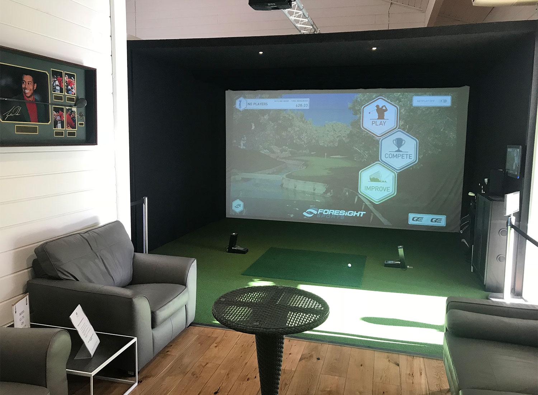 Indoor Golf Simulator Amp Putting Green A1 Golf Range